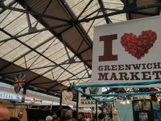 """See 920 photos and 143 tips from 10023 visitors to Greenwich Market. """"One of the BEST places! Living in Greenwich, it's. Greenwich Market, London Places, Places To Eat, Four Square, The Good Place, Things To Do, Map, Marketing, City"""