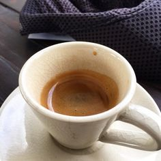 Espresso at Art in Paradise Cafe in Chang Klan, Chiang Mai