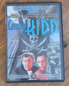 Captain Kidd (DVD) John Carradine, Randolph Scott, Charles Laughton