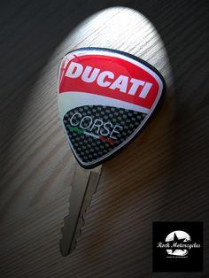 Chiave acc. moto Ducati realizzata a mano.
