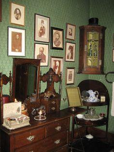 sherlock holmes bedroom - Google Search