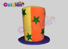 Sombrero Copa Estrellas Mr. Cotillón