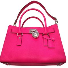 Michael Kors Nwt! Hamilton Saffiano Leather East West Handbag Pink Raspberry Satchel. Save 27% on the Michael Kors Nwt! Hamilton Saffiano Leather East West Handbag Pink Raspberry Satchel! This satchel is a top 10 member favorite on Tradesy. See how much you can save! GORGEOUS GIFT!!! BIG SALE TODAY!!! FREE SHIPPING & RETURNS!!! NO TAX!!!