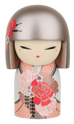 """Kimmidoll™ Yumiko - 'Compassion' - """"My spirit is genuine and caring. The deep empathy and sincere kindness you show toward others reveals the gift of my spirit. May your compassionate nature bring strength and comfort to everyone you help along the way."""""""