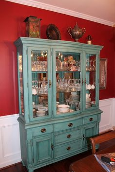 chalk paint and wax   ... using chalk paint, antique glaze and wax. www.addressingspaces.com