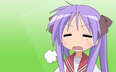 Tags: Anime, Lucky☆Star, Hiiragi Kagami, Wallpaper- Always annoyed by Konata! Manga Books, Manga To Read, Konata Izumi, Haruhi Suzumiya, Anime Expressions, Star Wallpaper, Star Pictures, Lucky Star, Cybergoth
