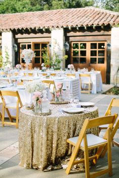 Glitter filled wedding: http://www.stylemepretty.com/california-weddings/2015/02/22/glitter-and-gold-wedding-at-holman-ranch/ | Photography: This Love of Yours - http://thisloveofyours.com/