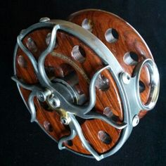 Seaspey prototype in Cocobolo and gunmetal stainless steel, C.A.Blackburn