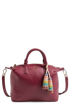 Tory Burch Small Multicolor Tassel Satchel available at #Nordstrom
