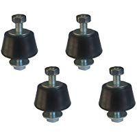 4 X Antivibrationsfusse Schwingungsdampfer Inverter Split