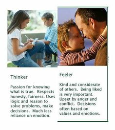 """Myers-Briggs personality test  Explaining the """"T"""" thinker to """"F"""" feeler continuum / spectrum. I'm a T if ever there was a T."""