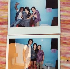 Polaroid fun w Red Band Society cast!