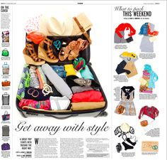 """My featured """"get away with style """" article for the OC register....Leslie Christen 