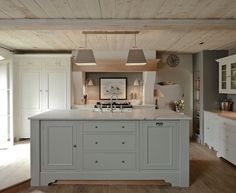 12 Farrow and Ball Kitchen Cabinet Colors - For the perfect English Kitchen - French Gray