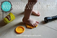 "When Things Go Squish in the Night by Raising Clovers - Ever have one of ""those"" days?  Well, I had one of ""those"" nights. Read all about it here! I hope you find encouragement in it. http://www.raisingclovers.com/2014/01/24/when-things-go-squish-in-the-night/"