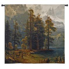 Fine Art Tapestries Sierra Nevada by Bierdstadt Tapestry & Reviews | Wayfair