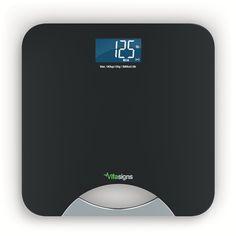 Vitasigns VS41133-0200 Bluetooth Smart Bathroom Scale, Black >>> For more information, visit image link.