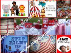 Circus themed party  did 11/2013