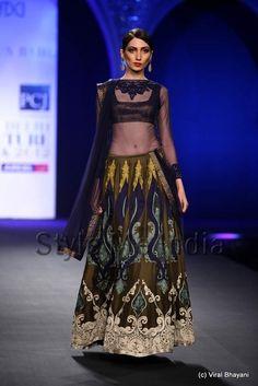 Varun Bahl at Delhi Couture Week 2012
