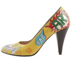 Hotstepper  Pop Art Hot Stepper, Pumps, Heels, Hot, Pop Art, Footwear, Nice Things, Outfits, Fashion