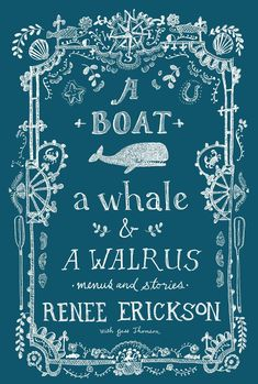 Renee Erickson is a James Beard-nominated chef, one of the country's most acclaimed, and owner of several Seattle restaurants - The Whale Wins, Boat Street Café, The Walrus and the Carpenter, and Barn