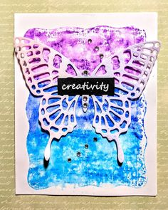 Butterfly Cards, Ink Pads, Stamping, Creative, Instagram, Stamps, Stamp Sets, Printing, Card Making