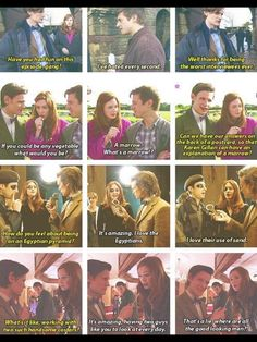 Matt, Karen and Arthur are legit frendship goals