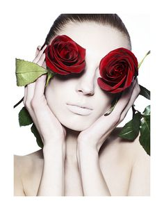'Pale Roses' - Vogue Turkey, 2010. Photo: Ben Hassett. Model: Olga Sherer.