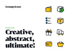 Grumpyicons - eCommerce Kit designed by Petr Bilek. Connect with them on Dribbble; Saint Charles, San Luis Obispo, Show And Tell, Ecommerce, App, Icons, Design, Apps, E Commerce