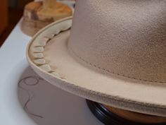 We arrived today at the final stages of finishing a custom made beaver felt fedora hat with Stephen Temkin of Leon Drexler hats in Toronto,...