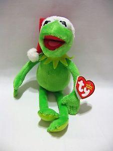 86480b65b3b Ty Beanie Baby Kermit The Frog Green Walgreens Disney Exclusive Muppets