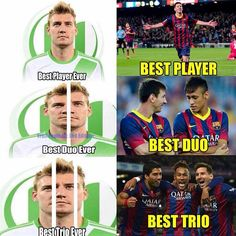 Inane - silly or foolish Football Quotes, Soccer Quotes, Football Soccer, Messi Vs Ronaldo, Lionel Messi, Funny Soccer Memes, Best Funny Photos, European Football, Quotes Girls