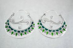 Traditional canary earrings inspired por ArgollasTravieso en Etsy, €30.00
