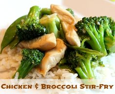 Chicken and Broccoli Stir-Fry Recipe