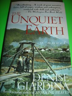The Unquiet Earth By Denise Giardina Coal miners West Virginia Paperback $9.95