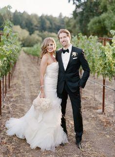 A Dreamy Napa Valley Wedding from Sylvie Gil Photography - wedding dress