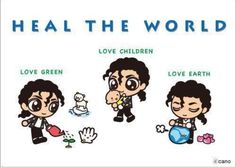 Art with Soul - Colors - Heal the world - Michael's message