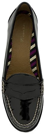 because i have a slight loafer obsession. Sperry Top-Sider Winsor Womens Penny Loafer (Black Patent)