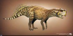 Сибирский пситтакозавр.