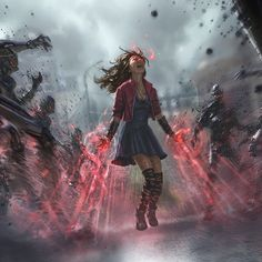 Scarlet Witch❤️ she is my favorite superhero EVER