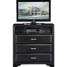 Belcourt Black Gallery Dresser.499.99. 58W x 17D x 40H. Find affordable Dressers for your home that will complement the rest of your furniture. #iSofa #roomstogo