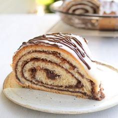 Chocolate Potica ~ also known as a nut roll or povitica this tender pastry is rolled up with a delectable chocolate-walnut filling.