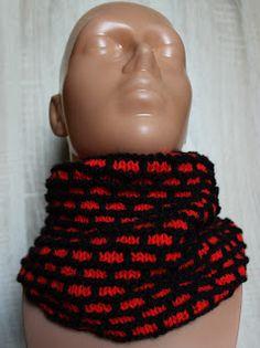 komin, knitting, druty, handmade by Kassy