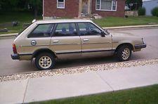 1984 subaru wagon gl gold - Google Search
