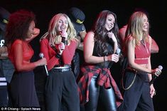 The next Spice Girls? Little Mix have been compared to the hugely successful 1990s girl ba...