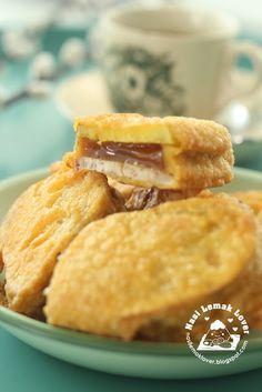 Nasi Lemak Lover: Crispy Deep Fried Niangao with Sweet potato and Yam 酥脆番薯芋头炸年糕
