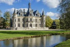 Beautiful Castles, Beautiful Places, French Provincial Home, French Castles, Château Fort, Gothic House, Victorian Houses, Modern Mansion, Castle House
