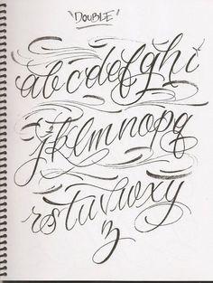 Images For Fancy Cursive Fonts Alphabet For Tattoos Lettering