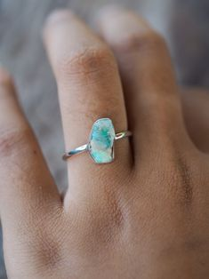 Rough Fossil Opal Ring These fossil opals come from different family mines. Our Australian supplier is a member of the Opal Association of Australia and assures us that these opals have been ethically sourced. - September 07 2019 at Rose Gold Engagement Ring, Engagement Ring Settings, Vintage Engagement Rings, Diamond Wedding Bands, Vintage Rings, Wedding Rings, The Bling Ring, Diamond Cluster Ring, Anniversary Rings