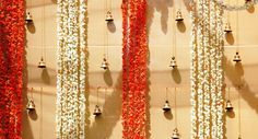 indian wedding marigold decorations - Google Search